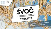 Študentská vedecká a odborná činnosť (ŠVOČ) 2020