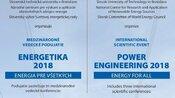 Medzinárodné vedecké podujatie ENERGETIKA 2018