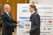 Ing. Jozef Bendík, PhD. jednou zo študentských osobností roka