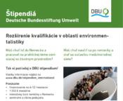 Štipendium DBU v Nemecku